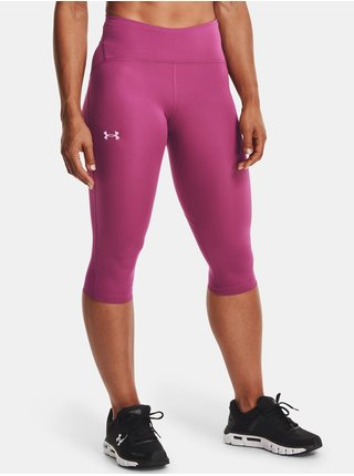 Legíny Under Armour W UA Fly Fast Speed Capri-PNK
