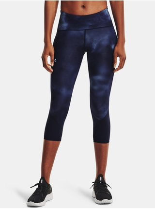 Legíny Under Armour Fly Fast HG Printed Crop-NVY