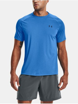 Tričko Under Armour Tech 2.0 SS Tee Novelty - modrá