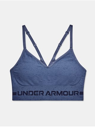 Podprsenka Under Armour UA Seamless Low Long Htr Bra - modrá