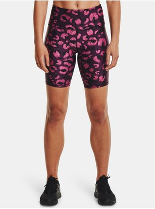 Kraťasy Under Armour UA HG Armour Shine BikeShort - fialová