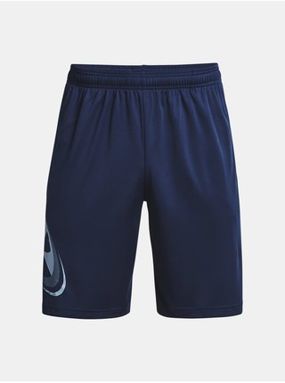 Kraťasy Under Armour UA Tech Cosmic Shorts - tmavě modrá