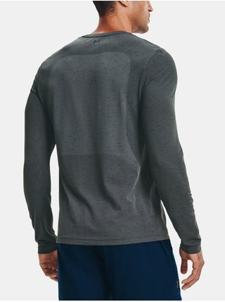 Tričko Under Armour UA Seamless LS - šedá