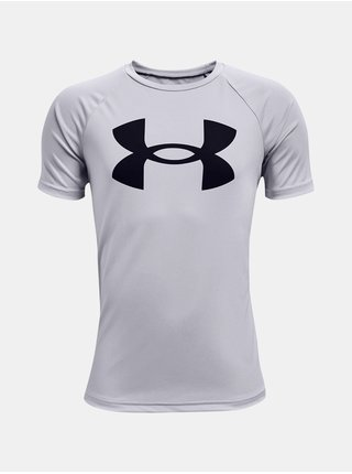 Tričko Under Armour Tech Big Logo SS - šedá