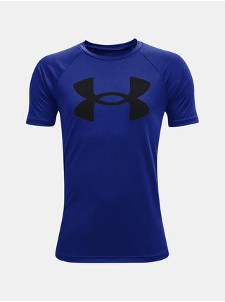 Tričko Under Armour UA Tech Big Logo SS - modrá