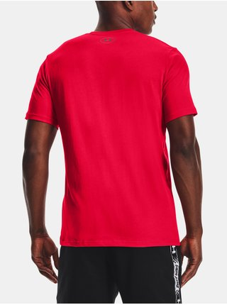 Tričko Under Armour HOOPS ICON TEE - červená