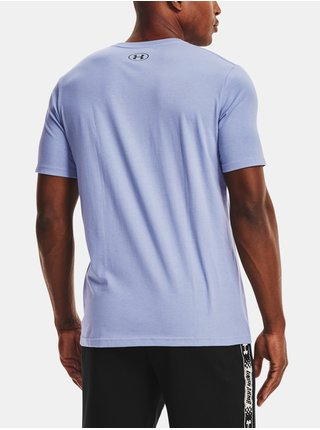 Tričko Under Armour UA HOOPS SUMMER DAZE TEE - modrá
