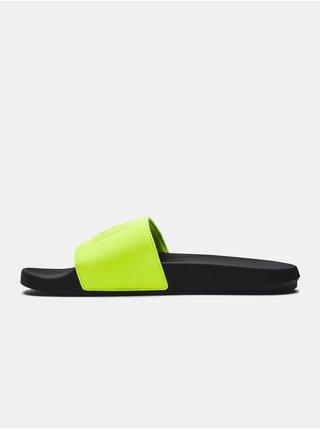 Pantofle Under Armour UA Core Remix Neon SL - černá