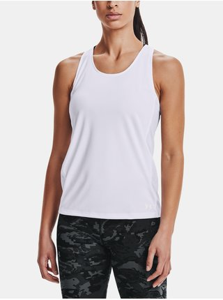 Tílko Under Armour UA Fly By Tank - bílá