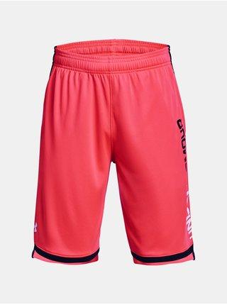 Kraťasy Under Armour UA Stunt 3.0 Shorts - červená