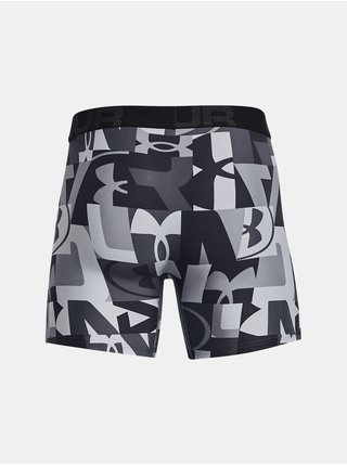 Boxerky Under Armour UA Tech 6in Novelty 2 Pack - šedá