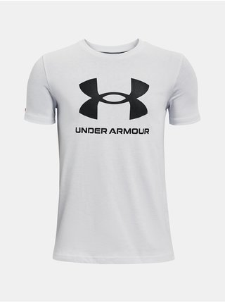 Tričko Under Armour Sportstyle Logo SS - šedá