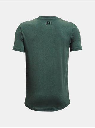 Tričko Under Armour Sportstyle Logo SS - zelená