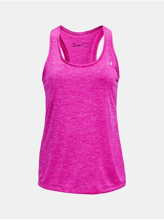 Tílko Under Armour Tech Tank - Twist - růžová