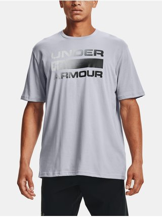 Tričko Under Armour TEAM ISSUE WORDMARK SS - šedá