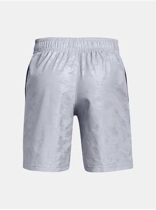 Kraťasy Under Armour UA Woven Emboss Shorts - šedá