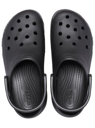 Crocs černé boty Classic Platform Clog W Black