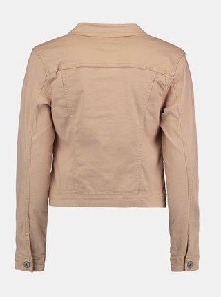 Béžová džínová bunda Hailys