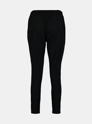 Čierne skrátené nohavice so zaväzovaním Hailys