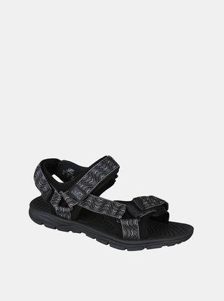 Tmavě šedé pánské vzorované sandály Hannah