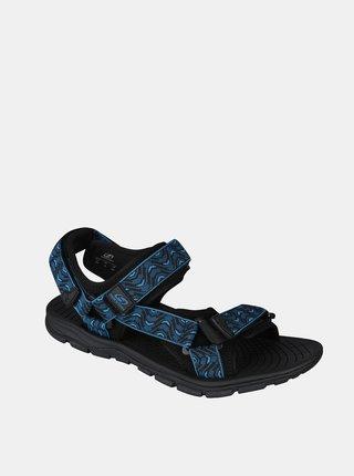 Modré pánske vzorované sandále Hannah
