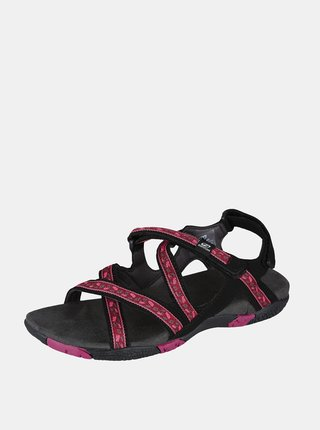 Růžové dámské vzorované sandály Hannah