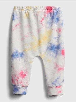 Baby tepláky GAP Logo tie-dye pull-on pants Farebná