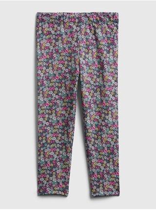 Barevné holčičí dětské legíny mix and match pull-on leggings