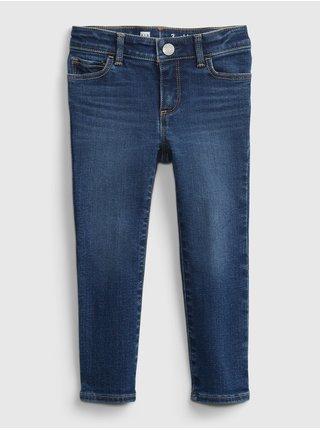 Modré holčičí dětské džíny skinny dk
