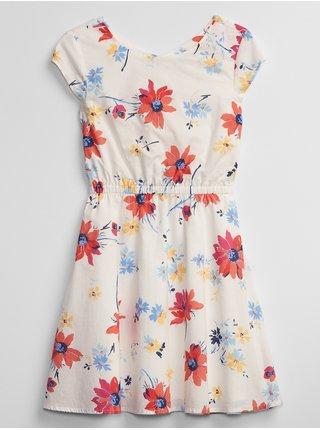 Barevné holčičí dětské šaty v-prt twst bk drs