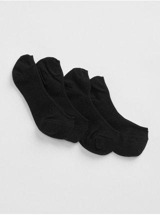 Černé dámské ponožky no-show socks, 2 páry
