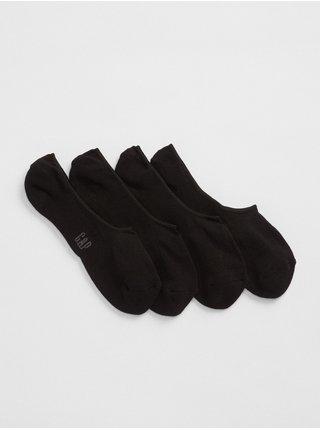 Černé pánské ponožky no-show socks, 2 páry