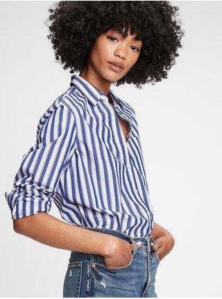 Modrá dámská košile perfect in poplin