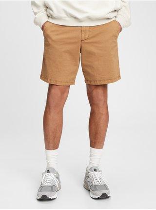 Hnědé pánské kraťasy 8 inch vintage short