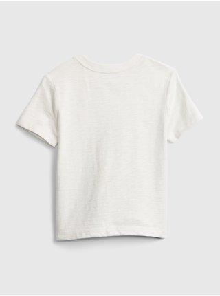 Detské tričko graphic t-shirt Biela