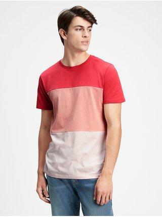 Tričko everyday colorblock t-shirt Červená