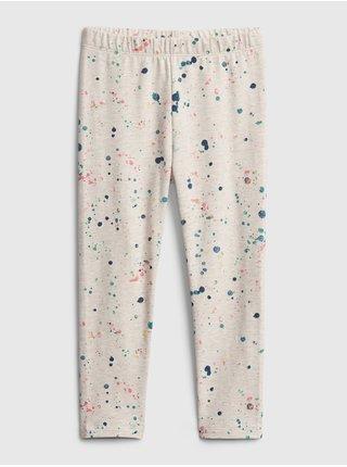 Detské legíny mix and match pull-on leggings Béžová