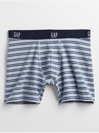 Modré pánské boxerky v-bar stp bb