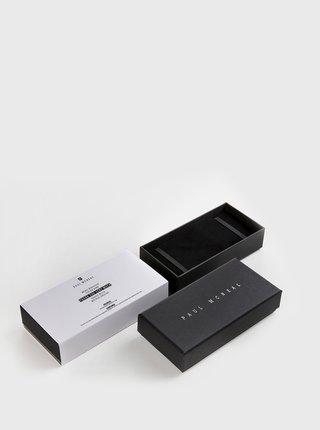 Sada pánskych hodiniek a náramku v čierne barve Paul McNeal