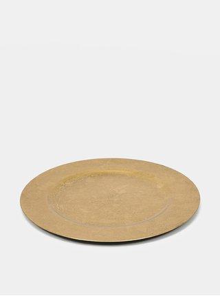 Talíř ve zlaté barvě Clayre & Eef