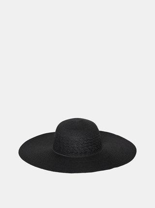 Černý slaměný klobouk VERO MODA Jolla