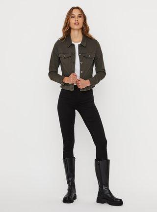 Khaki džínová bunda VERO MODA