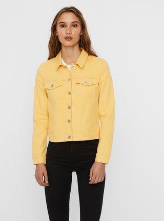 Žlutá džínová bunda VERO MODA