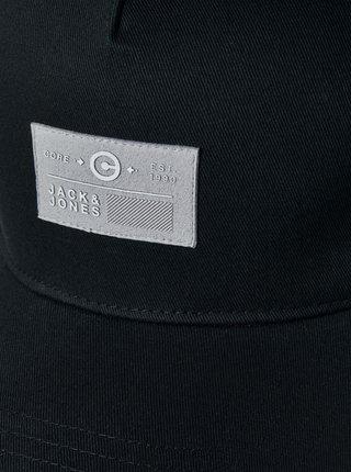Černá kšiltovka s nášivkou Jack & Jones String