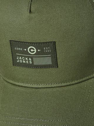 Zelená kšiltovka s nášivkou Jack & Jones String