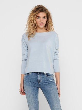 Světle modrý svetr ONLY Amalia