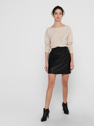 Krémový sveter ONLY Amalia