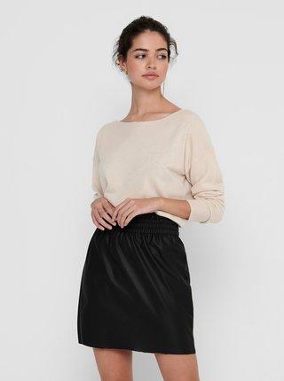 Krémový svetr ONLY Amalia