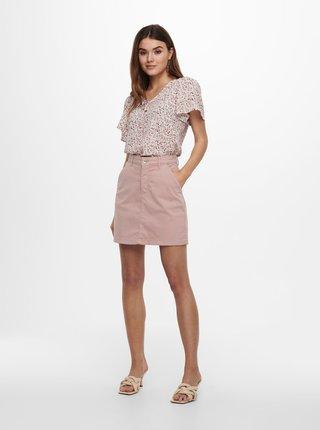 Růžová sukně Jacqueline de Yong Dakota