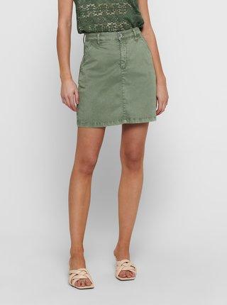 Zelená sukně Jacqueline de Yong Dakota